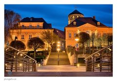 Bayreuth | Schlossturm und Panoramaterassen