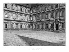 """Bayrische Impressionen """" Bamberg - neue Residenz"""""""