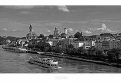 """Bayrische Impressionen """" Blick, auf Passau..... """""""