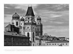 """Bayrische Impressionen """" die Stadttürme, von Passau..."""""""