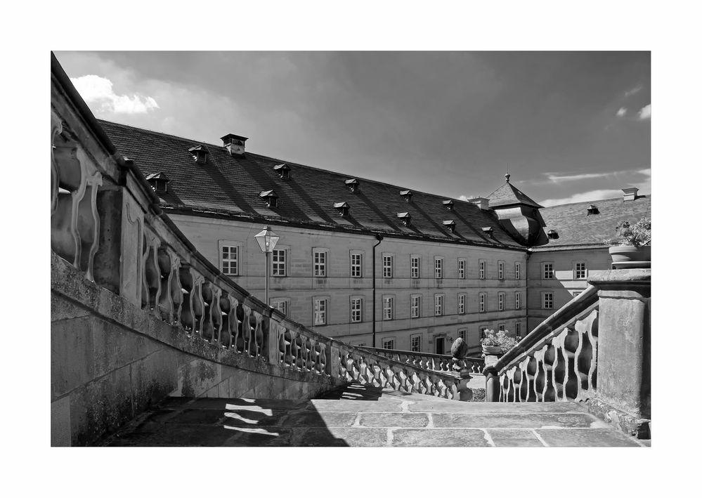 """Bayrische Impressionen """"  Kloster Banz, aus meiner Sicht..."""""""