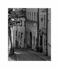 """Bayrische Impressionen """" Passau - Kleine Gasse """""""