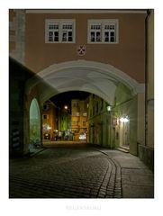 """Bayrische Impressionen """" Regensburg ...bei Nacht"""