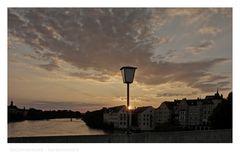 """Bayrische Impressionen """" Regensburg im Sonnenuntergang """""""