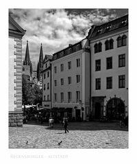 """Bayrische Impressionen """" Regensburger Altstadt..."""""""