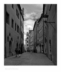 """Bayrische Impressionen """" Regensburger - Altstadt"""