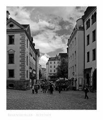 """Bayrische Impressionen """" Regensburger - Altstadt """""""