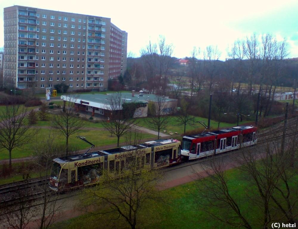 BB-Traktion am Zoopark