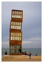BCN art - la playa