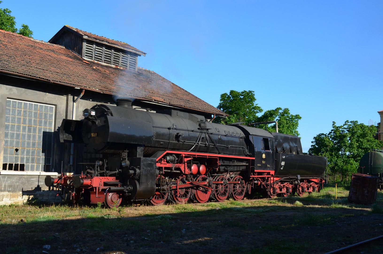 """BDZ 16.27 alias 42 2746 - sie war mal eine """"Vorratslokomotive"""""""