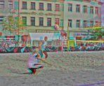 Beach Ball ANAGLYPH 3D