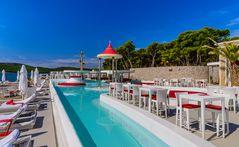 Beach Club 2, Sibenik, Dalmatien, Kroatien