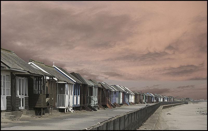 beach huts skegness