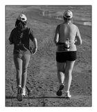 ... beach-jogging ...