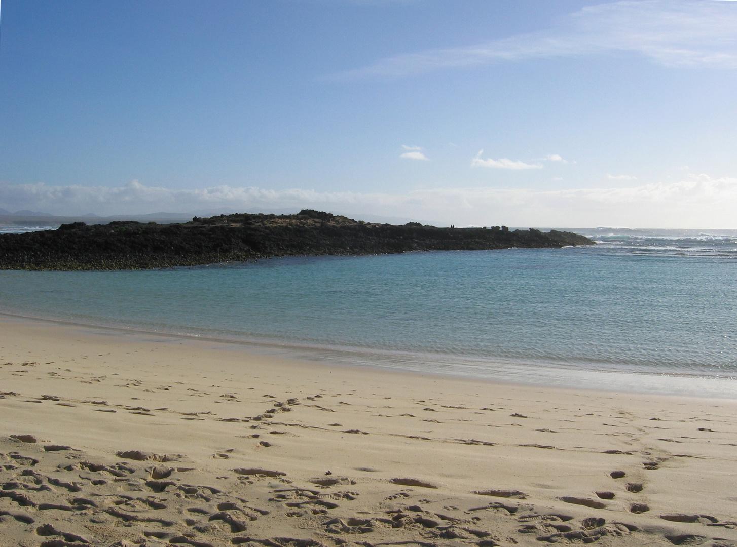 Beach near El Cotillo