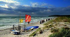 Beach of Isle Hiddensee