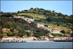Beach on river Tejo