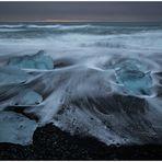 - beach on the rocks -