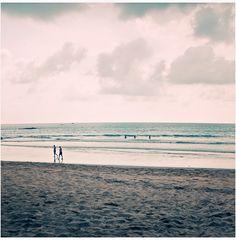* beach walk *