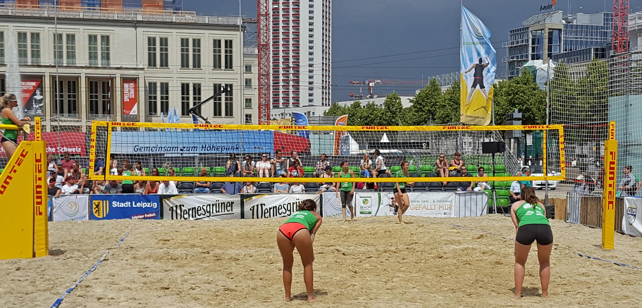 Beachvolleyball Leipzig
