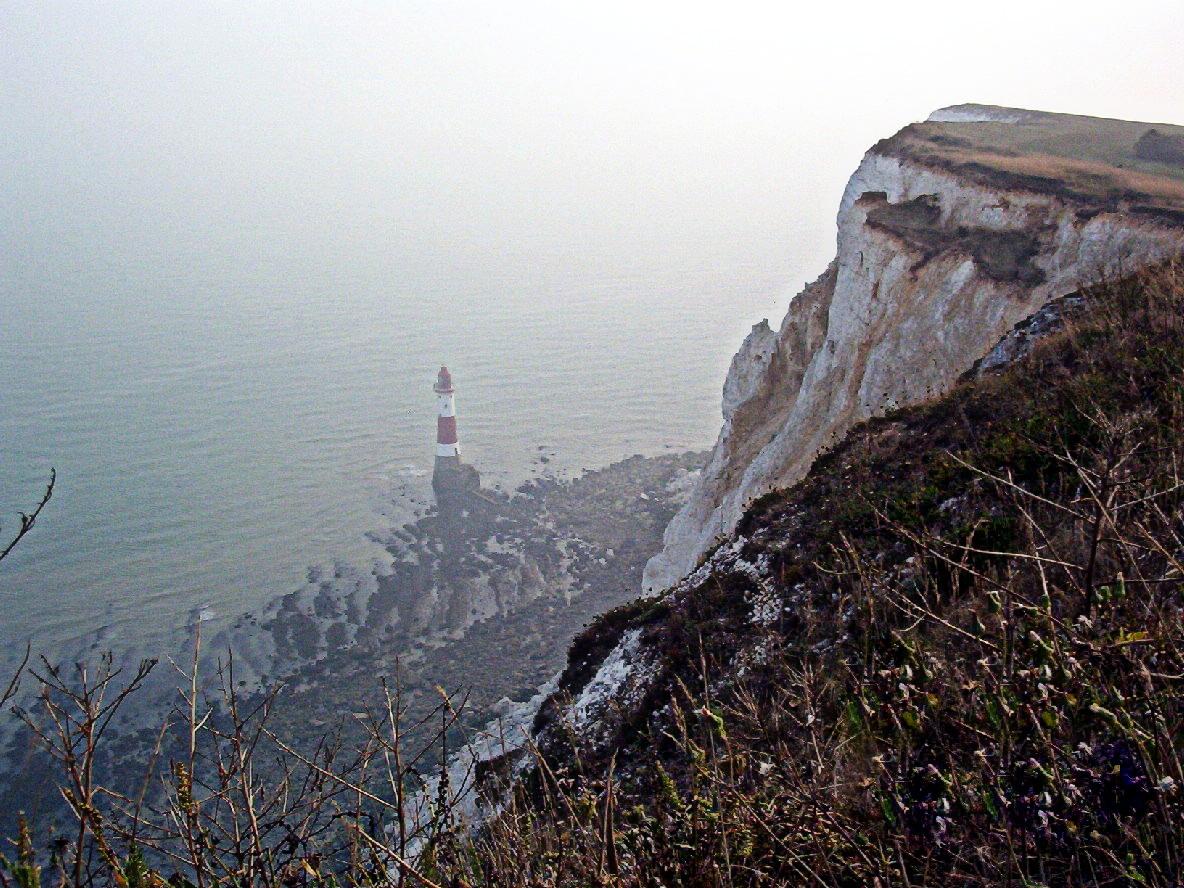 Beachy Head, Angleterre ....