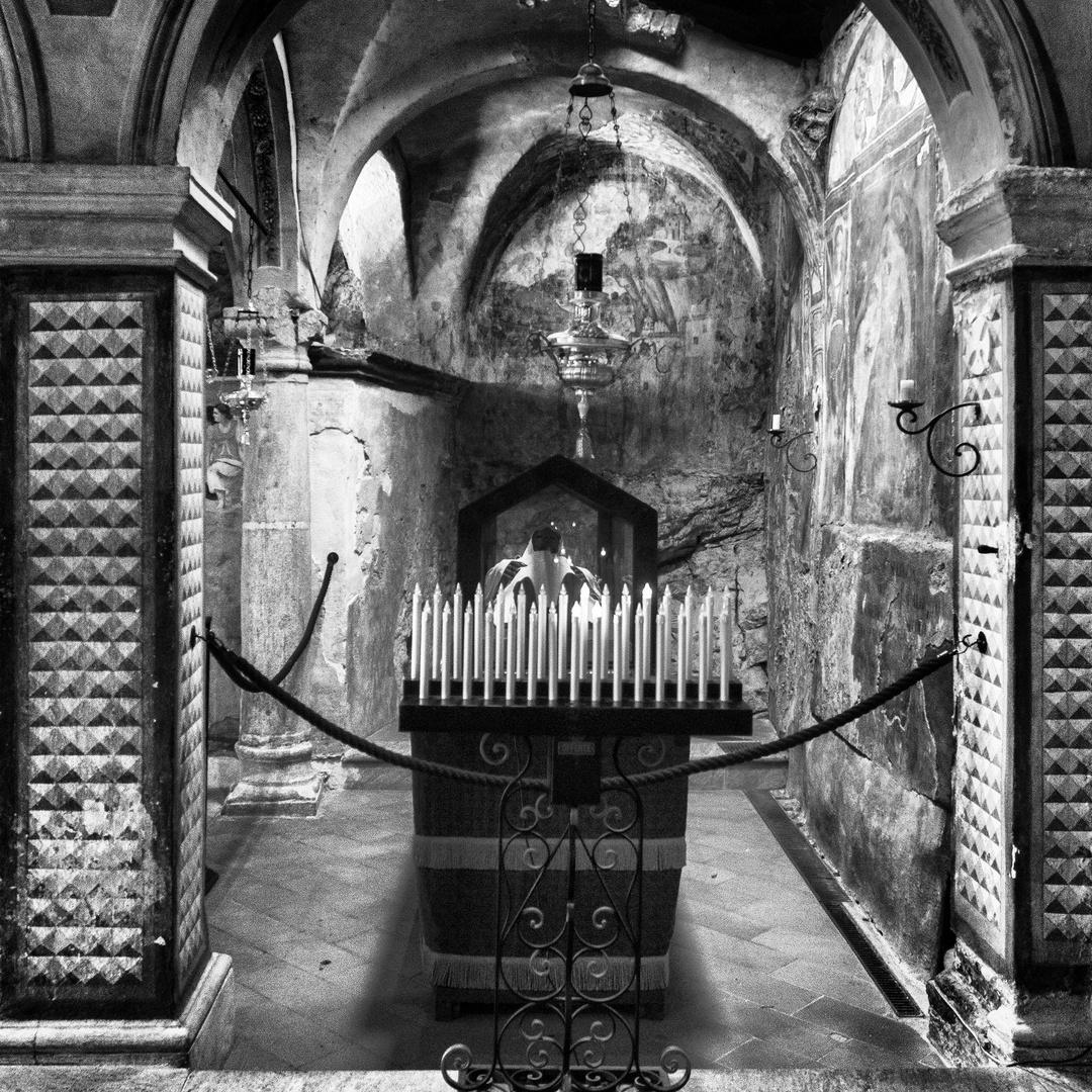 Beato Alberto, cripta