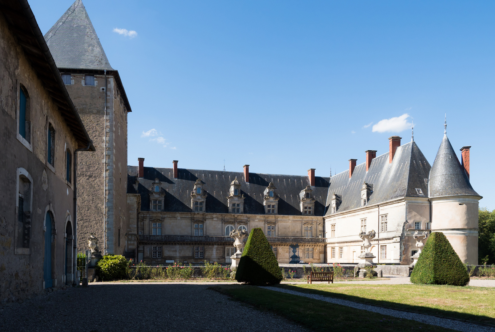 Beau château de Fléville devant Nancy