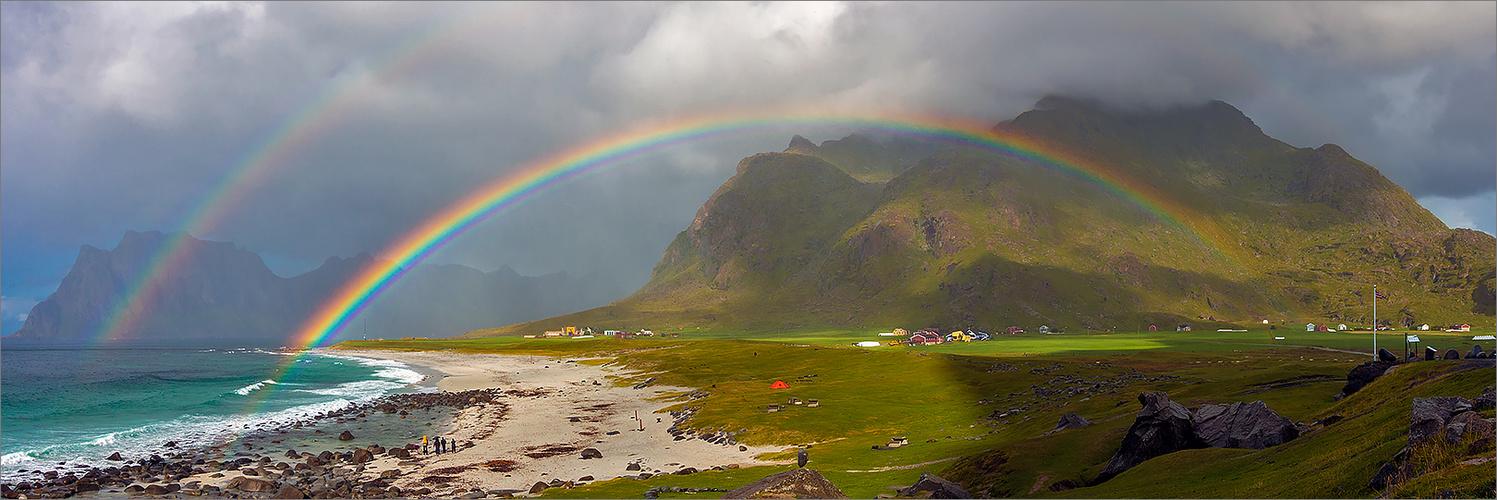 Beautiful Lofoten Panorama I  (Norway / Arctic Circle)