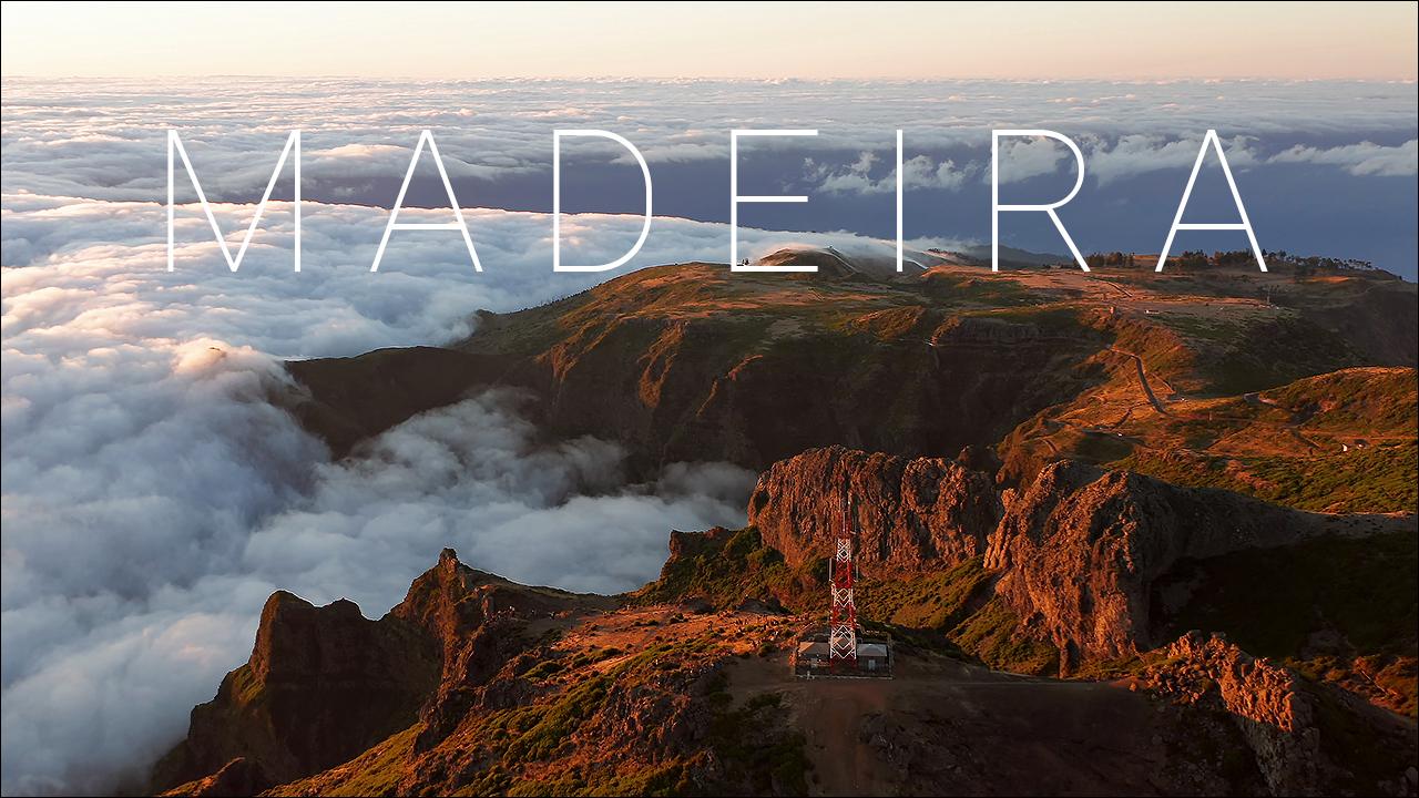 BEAUTIFUL MADEIRA ISLAND (Portugal) AERIAL DRONE 4K VIDEO