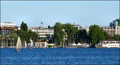 Beautiful river Alster