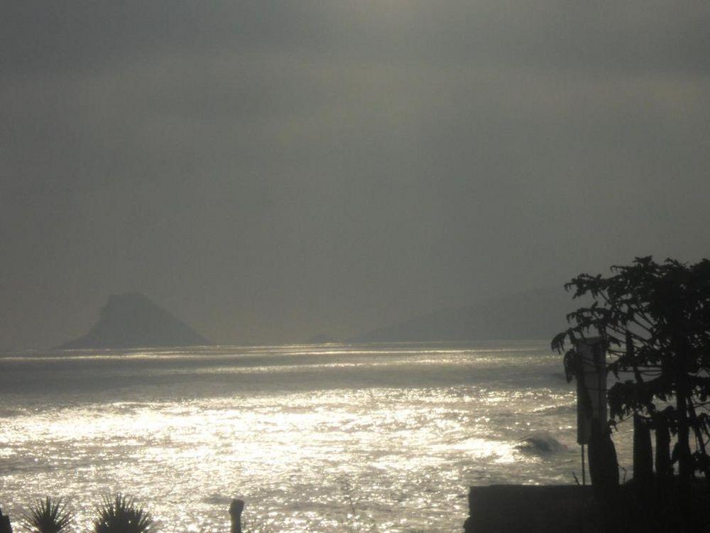 Beautiful view of the sea Playa Norte beach,Lima-Perù