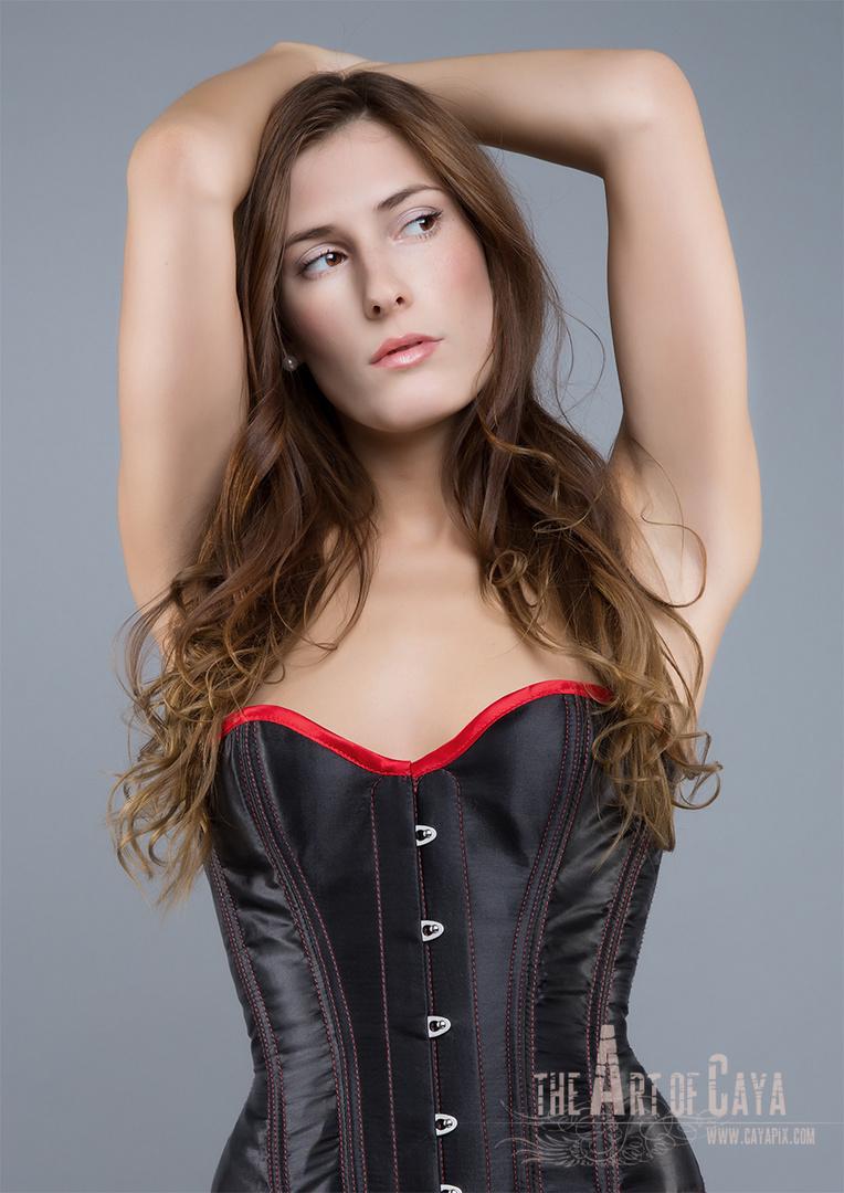 beauty in corset
