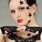 Beauty-Make up mit Spitze