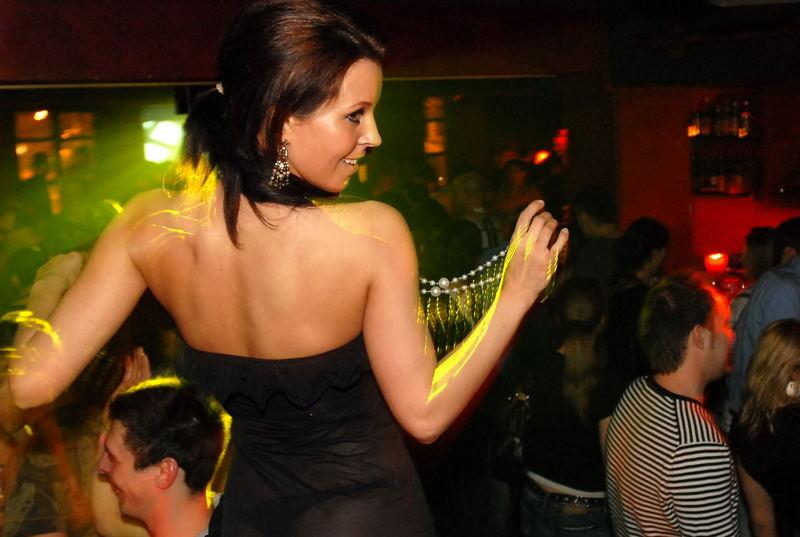 Beauty on the dancefloor