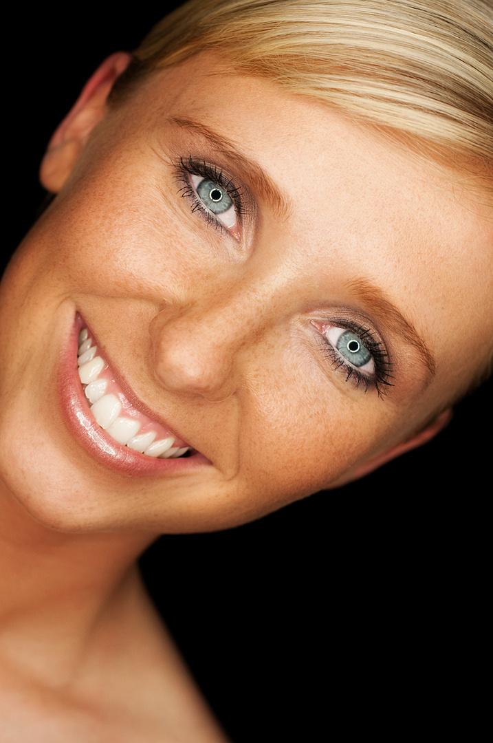 Beauty Portrait mit Ringleuchte