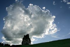 bedrohlicher Himmel ..........