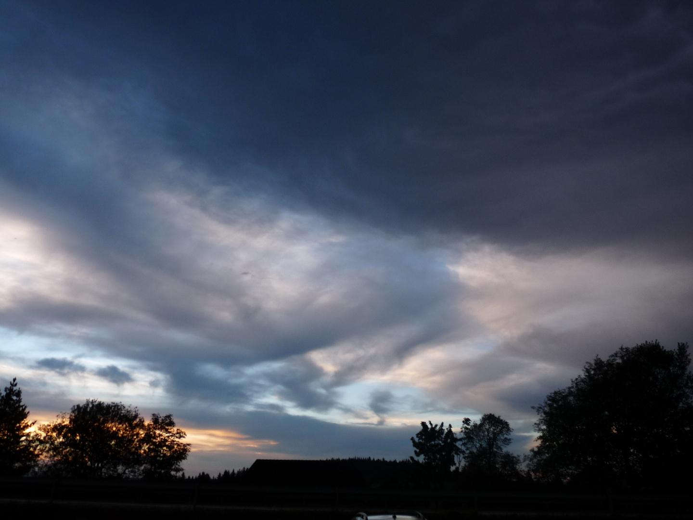Bedrohlicher Himmel