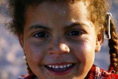 Beduinen-Mädchen