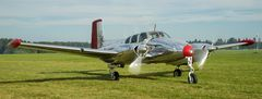 "Beechcraft Model 50 ""Twin Bonanza"" N3670B"