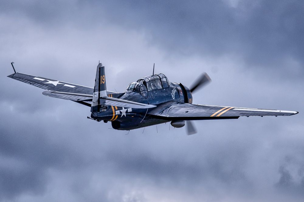 beeindruckende Luftfahrtgeschichte