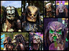 Beeindruckende Masken