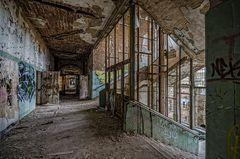 Beelitz Heilstätten - der Aufzug