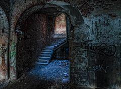 Beelitz Heilstätten - die Treppen ins Licht