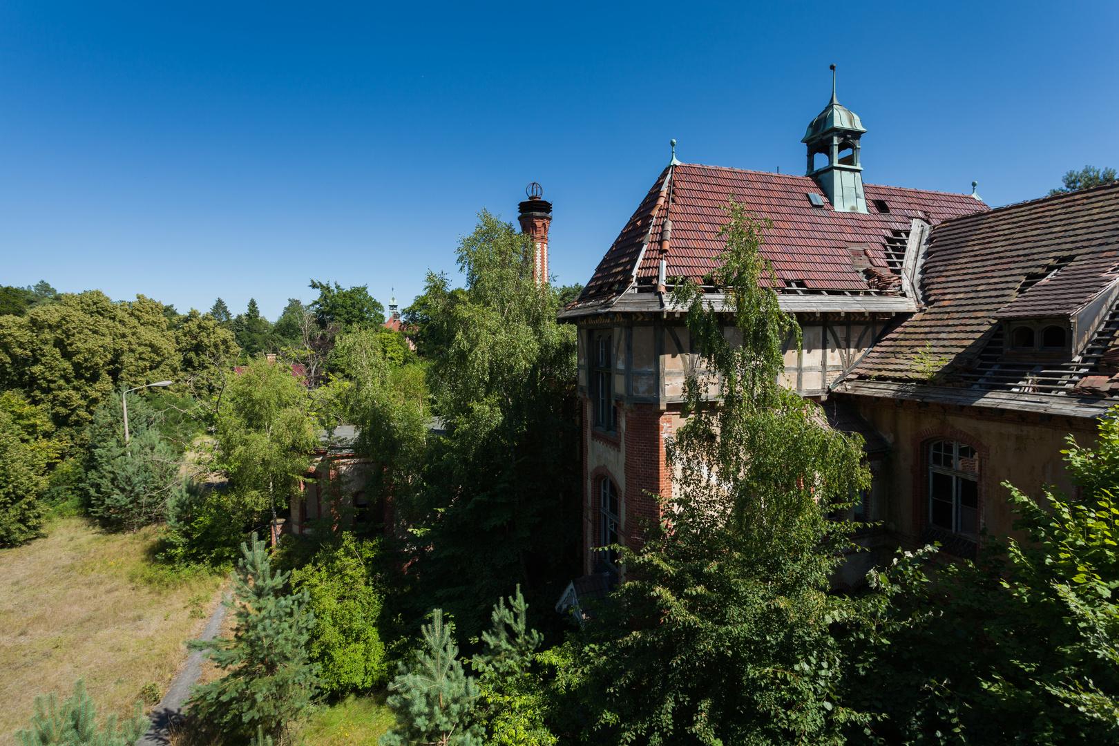 Beelitz Heilstätten - Frauensanatorium (13)