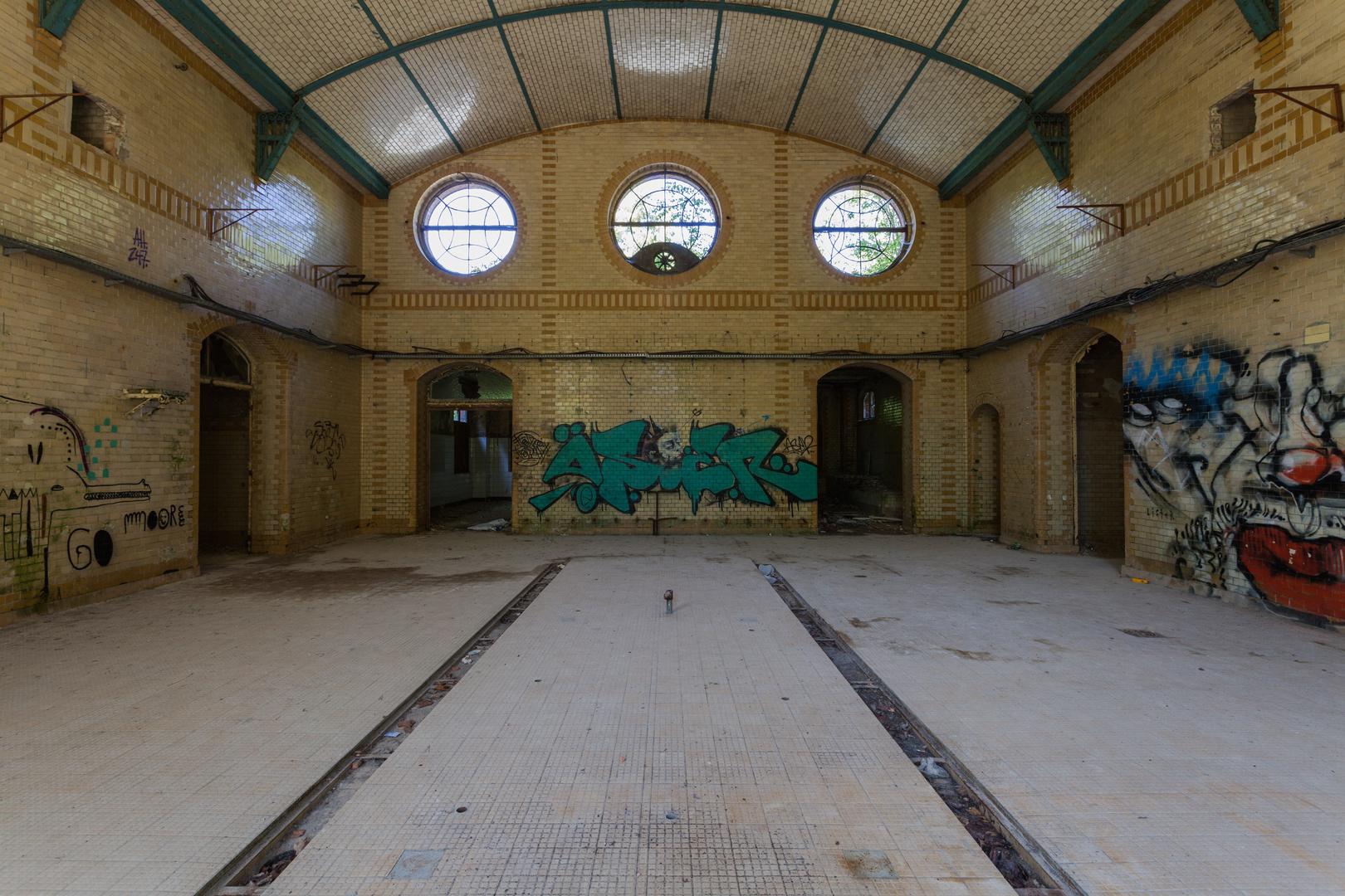 Beelitz Heilstätten - Frauensanatorium (7)