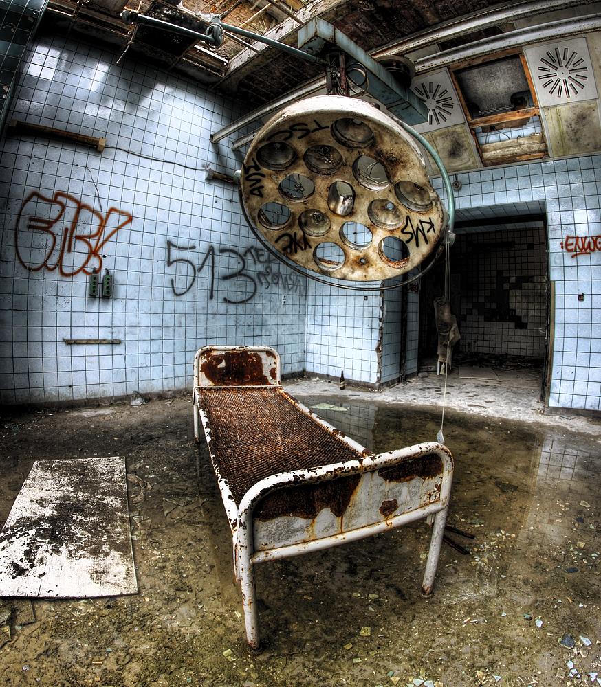 Beelitz Heilstätten OP Saal #2