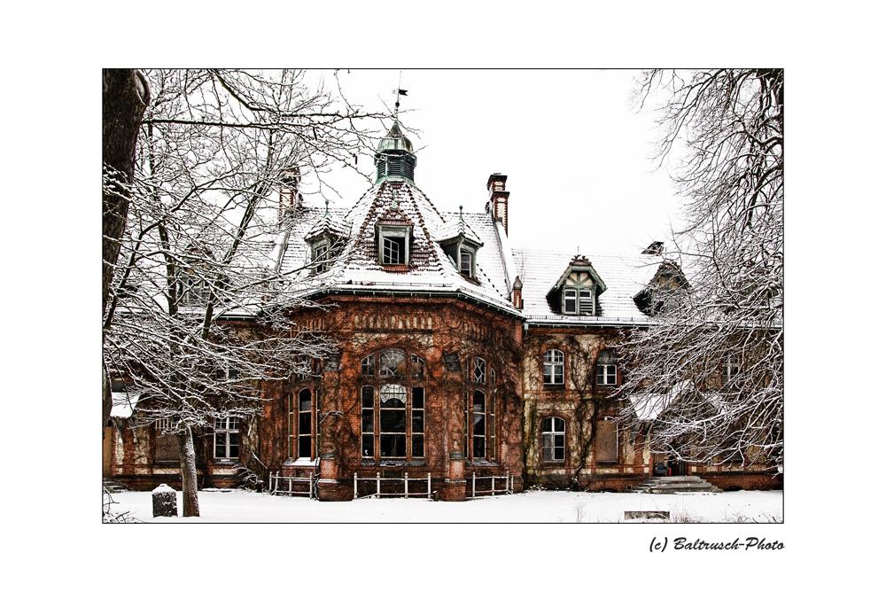 Beelitz im Winter