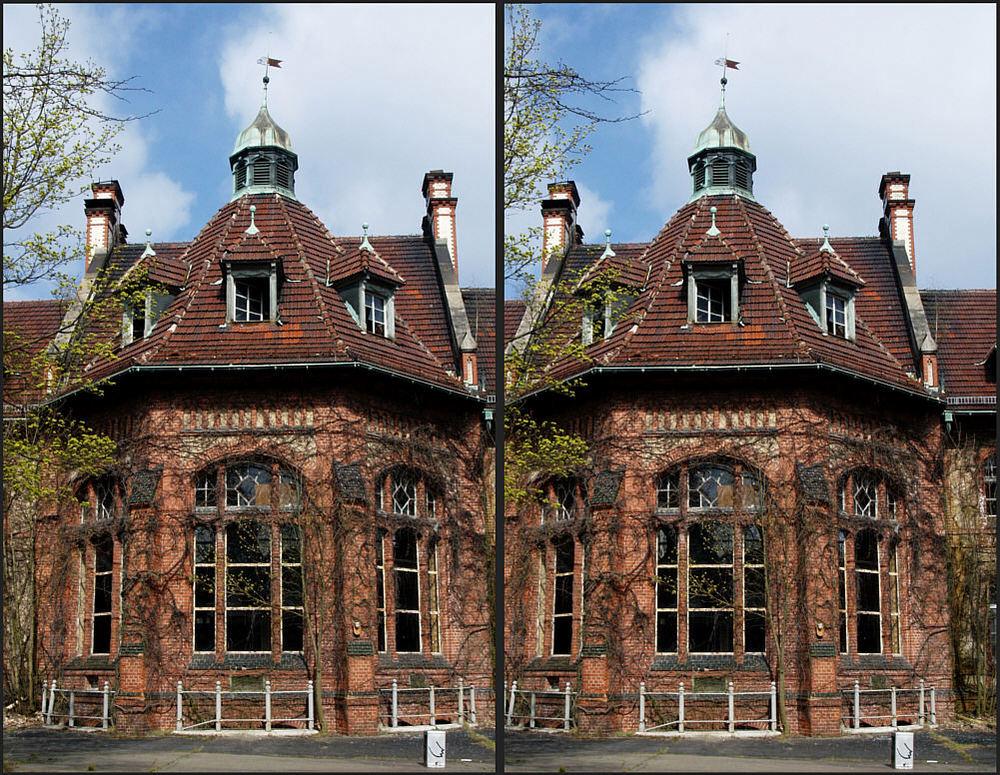 Beelitz Lungenheilanstalt bei Berlin