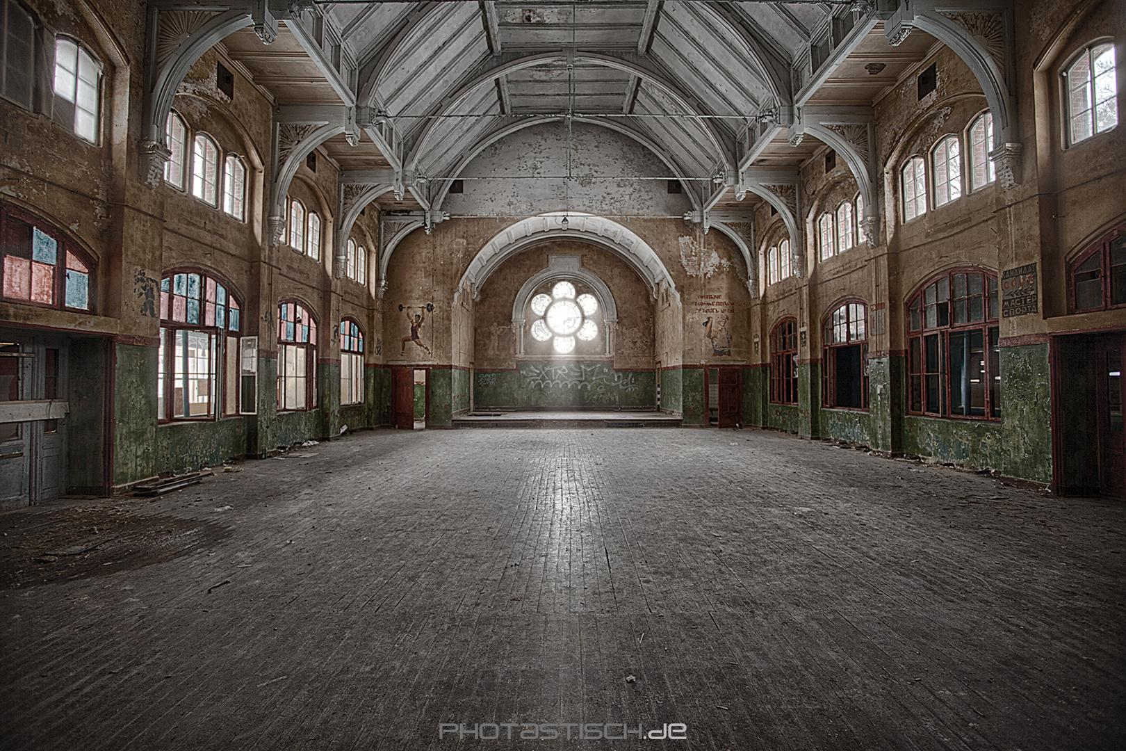 Beelitz Männerklinik - Turnhalle