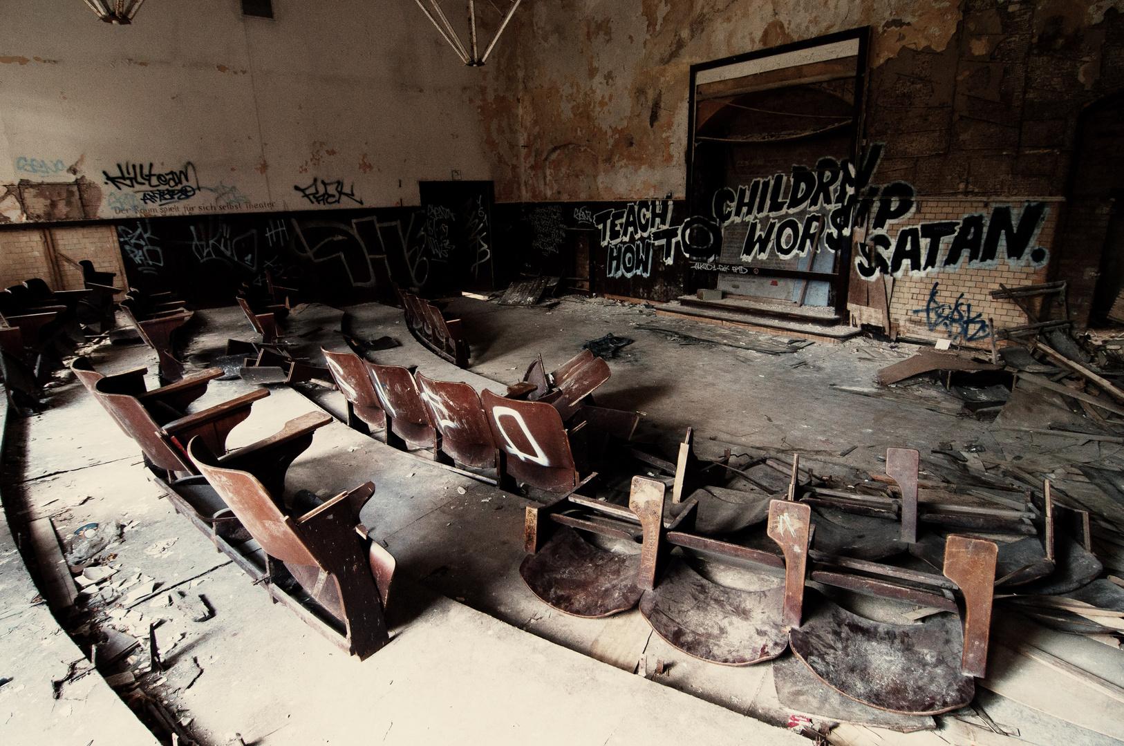 Beelitzer Heilstätten, Studiensaal